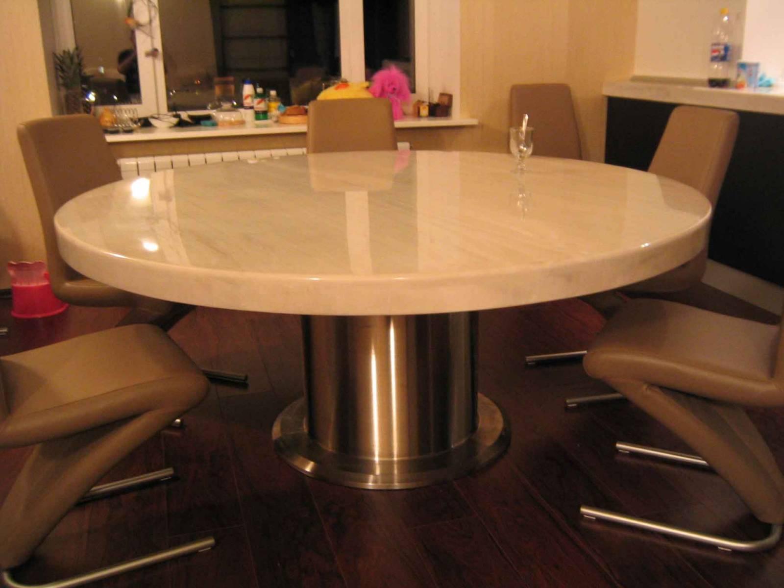 Каталог фото столов из камня. кухонные столы, журнальные сто.